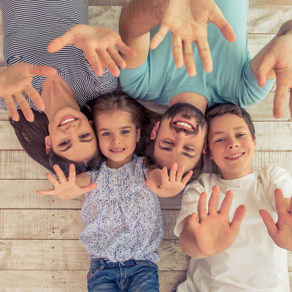 famiglia stesa